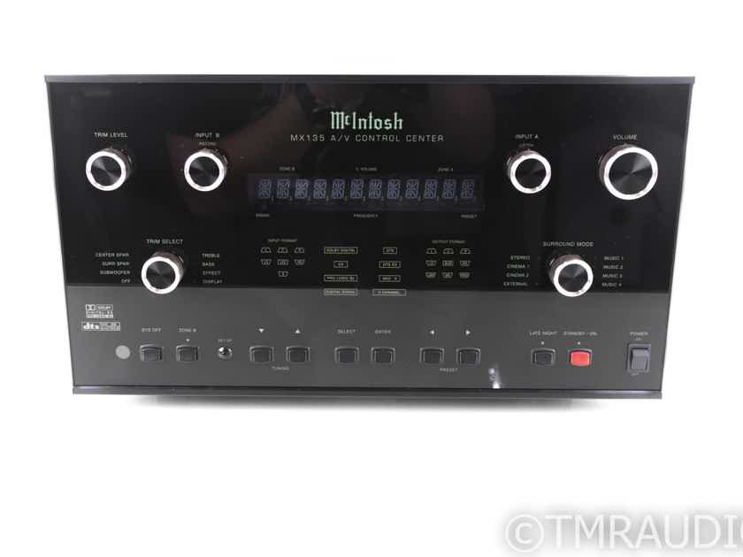 McIntosh MX135 7.1 Channel Home Theater Processor; MX-135; Remote (20086)