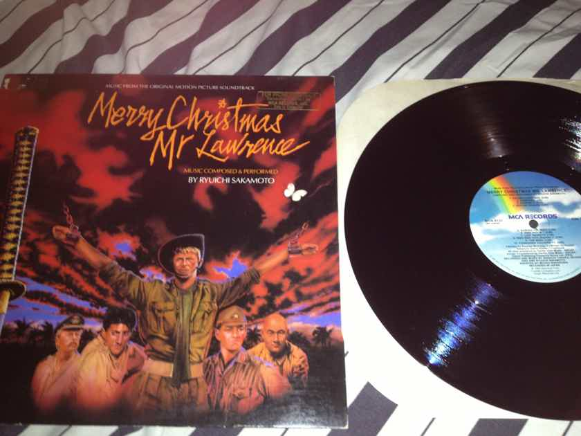Soundtrack - Merry Christmas Mr. Lawrence MCA Records Vinyl  LP NM