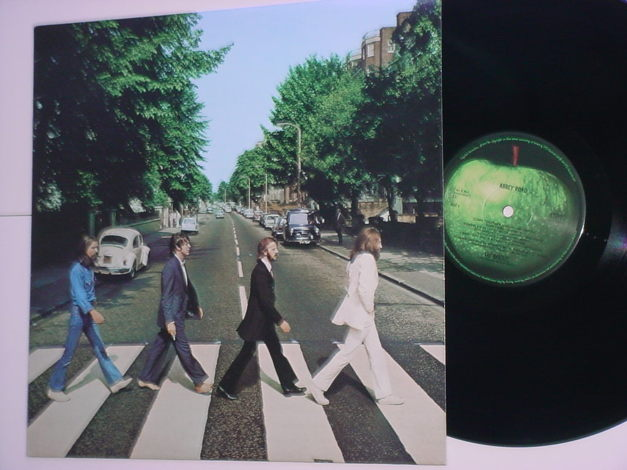 The Beatles Abbey Road lp record