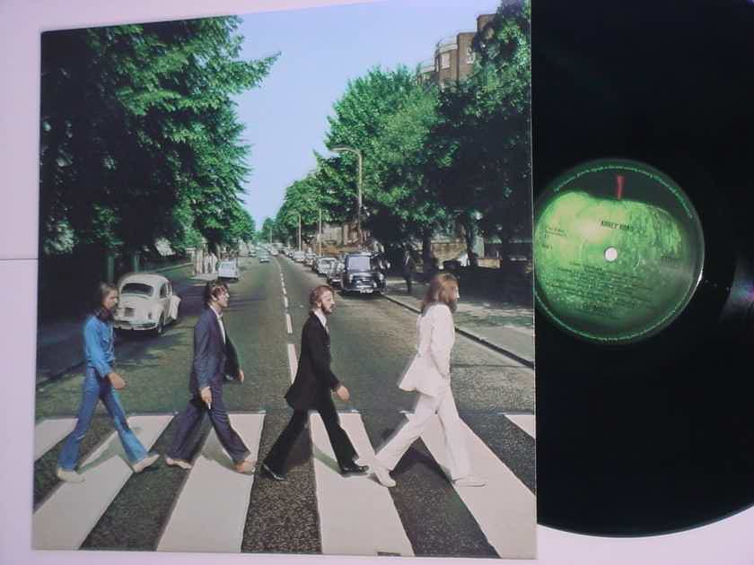 The Beatles Abbey Road lp record  APPLE EMI 2012
