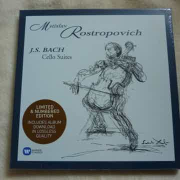 BACH CELLO SUITES ROSTROPOVICH
