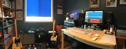 Office studio / music room DAW Focal monitors