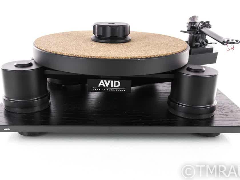 Avid Diva II Turntable; Rega RB303 Tonearm; Avid Isolation Platform; Dustcover (19629)