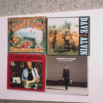 Dave Alvin lot of 3 cd cd's AND 1 Jimmie Dale Gilmore cd one endless night