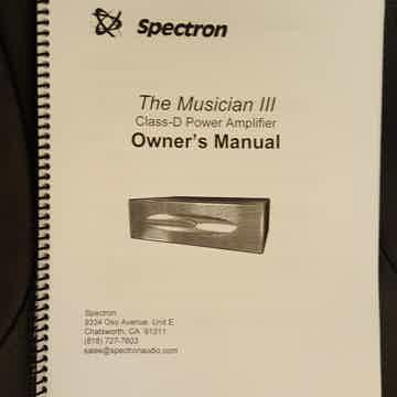 Spectron Musician III, Mk 2