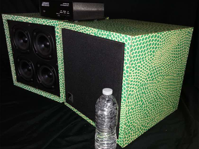 Ambiance Acoustics California Cube Loudspeaker System (Lizard Skin)