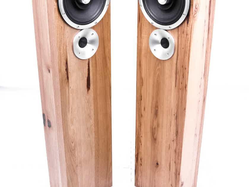 Zu Audio Druid Mk.V Floorstanding Speakers; Hand-Rubbed Rustic Hickory Pair (27130)