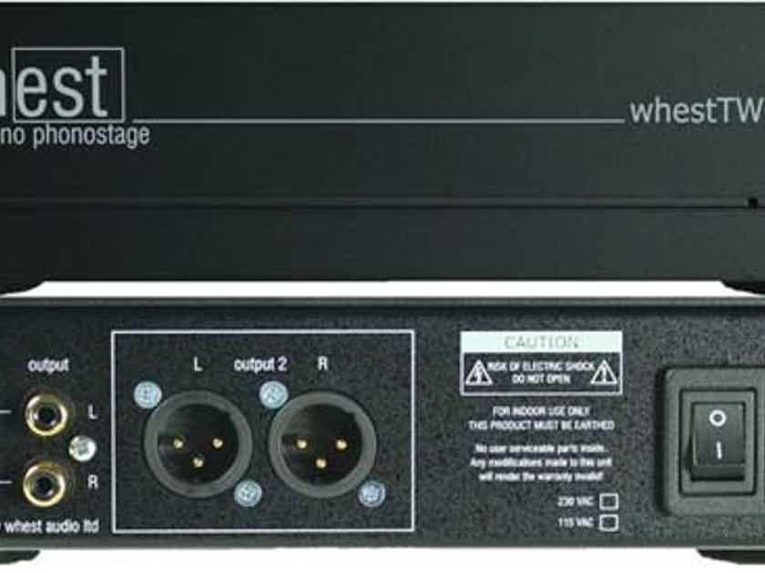 WHEST TWO.2, Highly Transparent, Natural Tone  - A Minor MIRACLE! From Audio Revelation