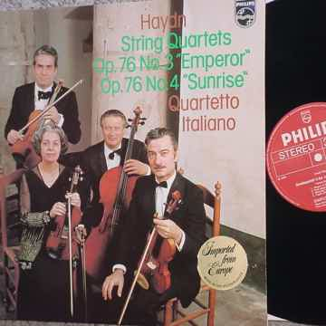 Quartetto Italiano lp record Holland 1976