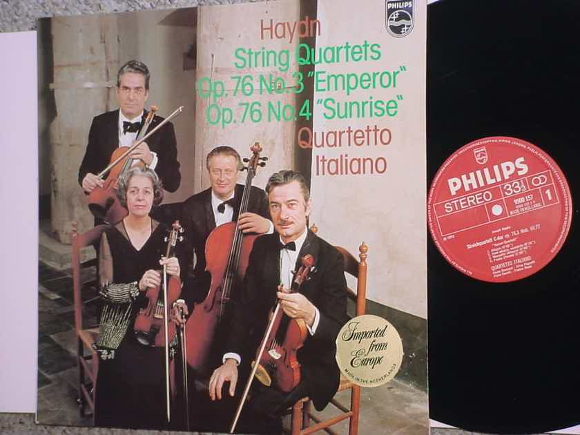 PHILIPS 9500157 Haydn string quartets Quartetto Italiano lp record Holland 1976