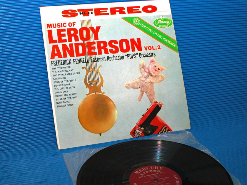 """ANDERSON/Fennell -  - """"The Music of Leroy Anderson Vol 2"""" -  Mercury Living Presence 1958 TAS 1st pressing"""