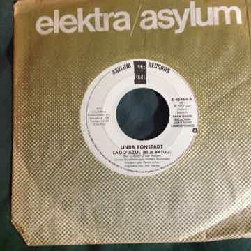 Linda Ronstadt - Lago Azul(Blue Bayou) Promo 45 Single ...