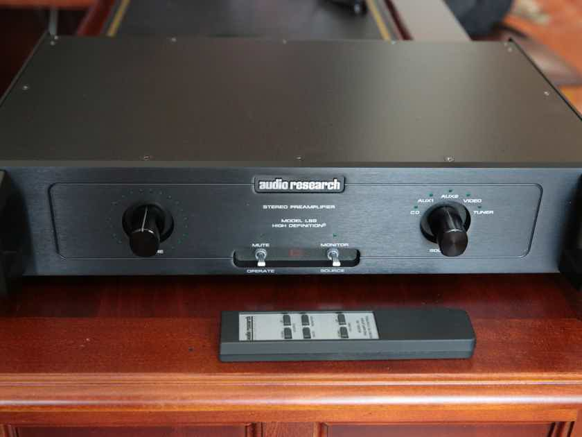 audio research ls9 preamplifier solid state audiogon. Black Bedroom Furniture Sets. Home Design Ideas