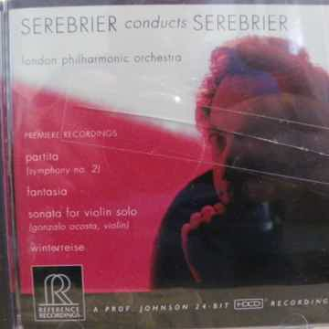SEREBRIER - CONDUCTS SEREBRIER NM CD