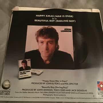 John Lennon Promo Mono/  Happy Xmas