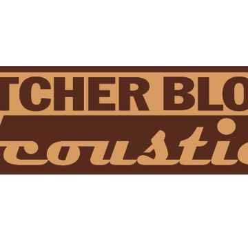 "Butcher Block Acoustics 18"" X 15"" X 1-3/4"" Maple Edge-Grain Audio Platform"