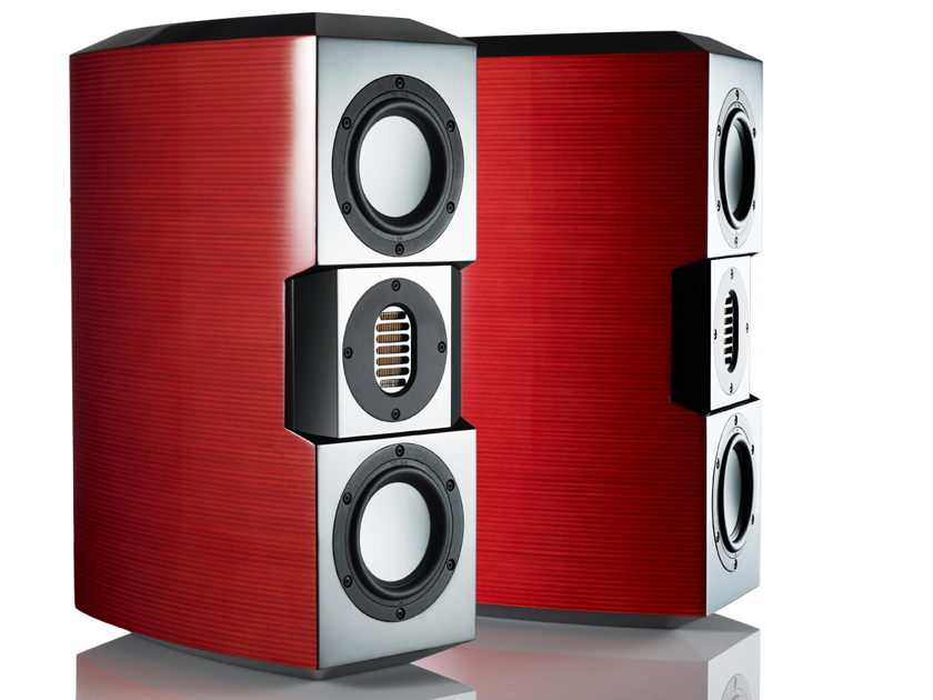 Evolution Acoustics MicroOne Loudspeakers Brand New In Crates