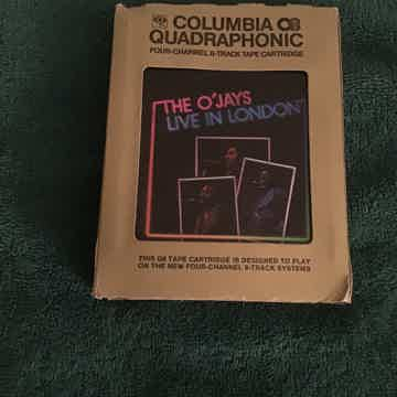 The O' Jays Live In London Quadraphonic 8 Track