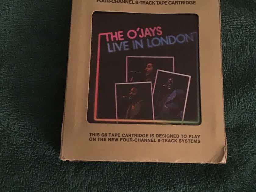 The O' Jays Live In London Quadraphonic 8 Track