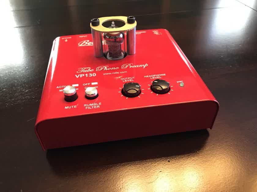 Bellari VP-130 Tube Phono Preamp with extra tube and charger