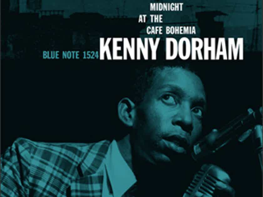 Kenny Dorham - 'round Midnight  - at the Cafe Bohemia, 45rpm, 2 LPs, Limited Edition Music Matters, Ltd. Blue Note 180g LP