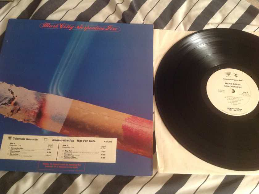 Marc Colby Serpentine Fire White Label Promo LP