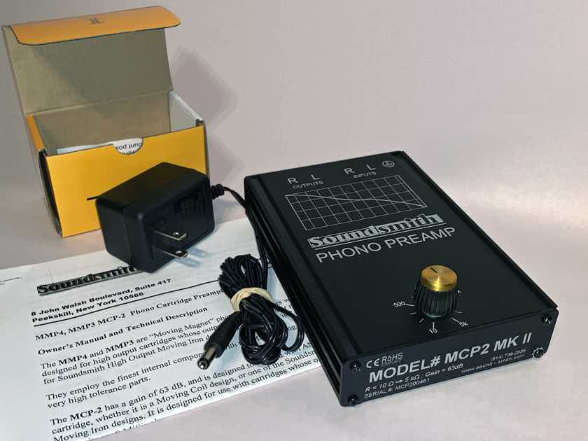 Soundsmith MCP-2 MKII Phono Preamp