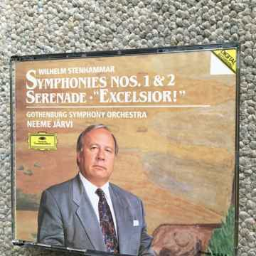 Wilhelm Stenhammar Neeme Jarvi  Symphonies no's 1&2 ser...