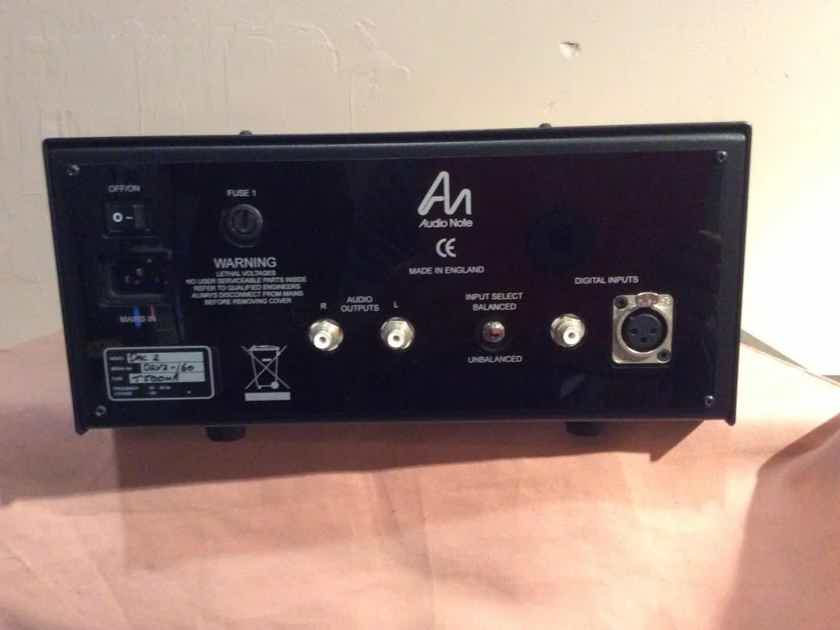 Audio Note Dac 2 1x Bal Da Converters Audiogon