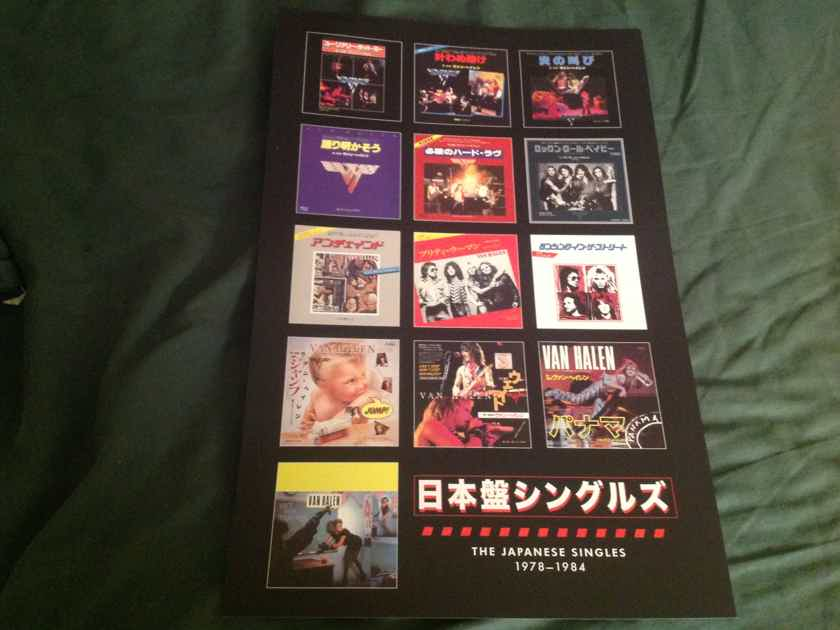 Van Halen  The Japanese Singles 1975-1984 Promo Poster