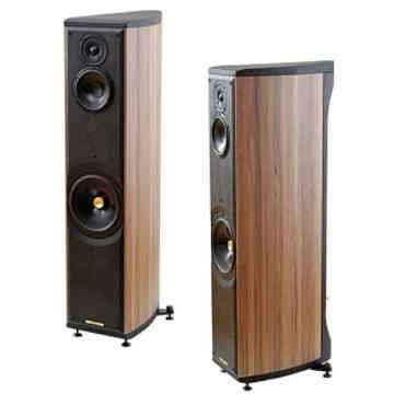 Sonus Faber Liuto Wood Floorstanding Speaker (Walnut): ...