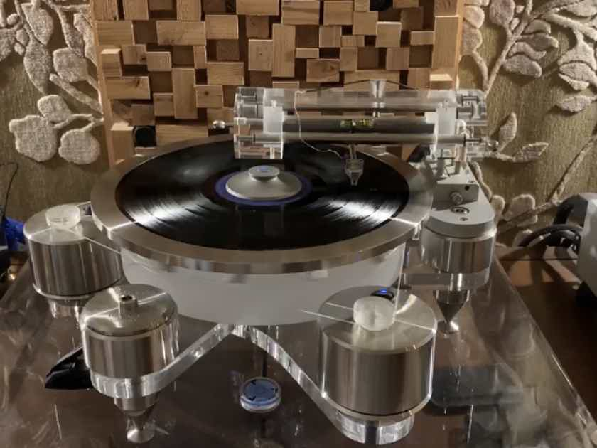 Wayne's Audio Turntable Periphery Stabilizing Outer Ring Clamp SS-2 for Basis VPI Micro Seiki  Clearaudio Sota Linn Rega Hanss