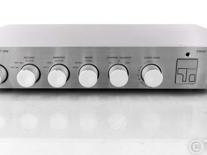 Threshold FET One Vintage Stereo Preamplifier; Stasis; FET-1; MM/MC Phono (21750)