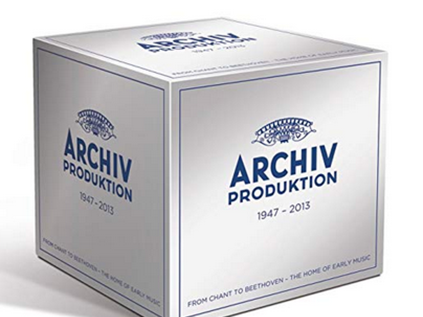 Various - Archiv Produktion: Early Music  Studio Of Deutsche Gramaphone