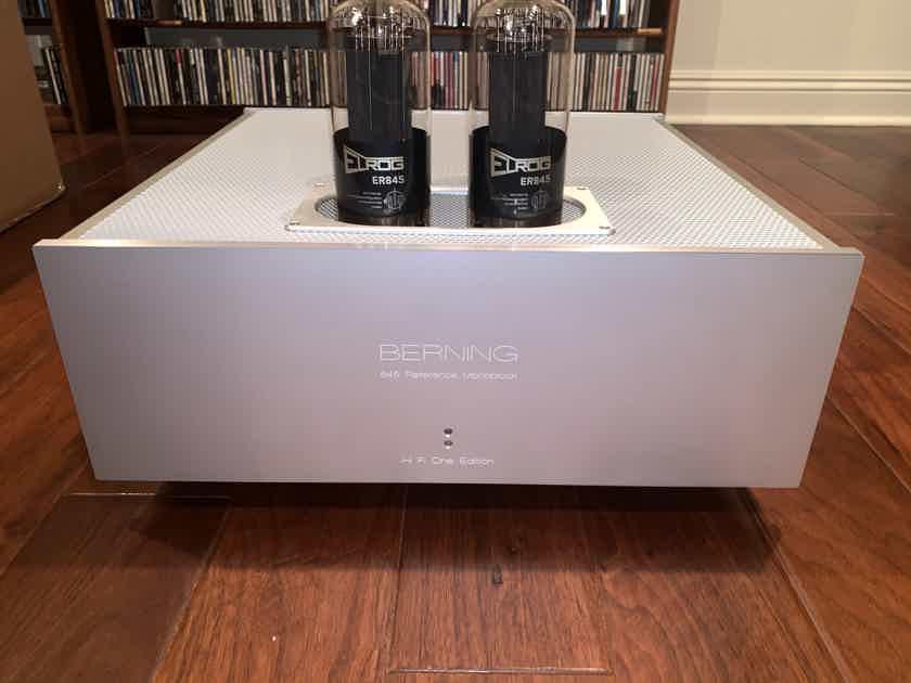 David Berning/Hi-Fi One edition 18 watt SET OTL