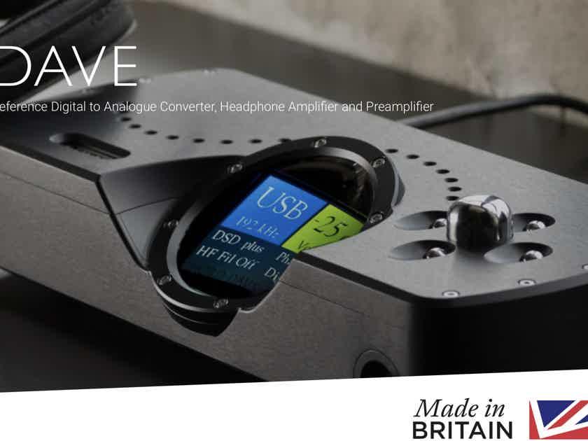 Chord DAVE DAC - Flagship DAC & Headphone Amp