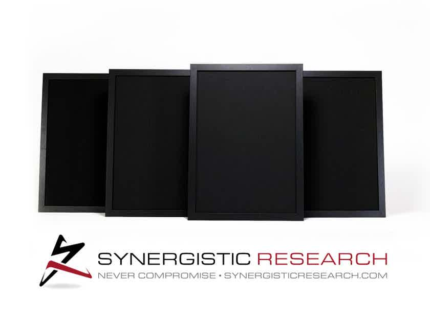 Synergistic Research UEF Acoustic Panels 8-pack - Product of the Year Award 2017 by The Absolute Sound