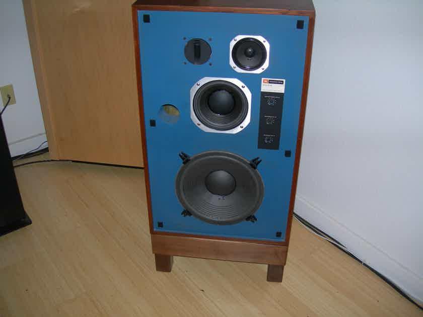 JBL 4315-B STUDIO MONITORS............BLUE FRONT
