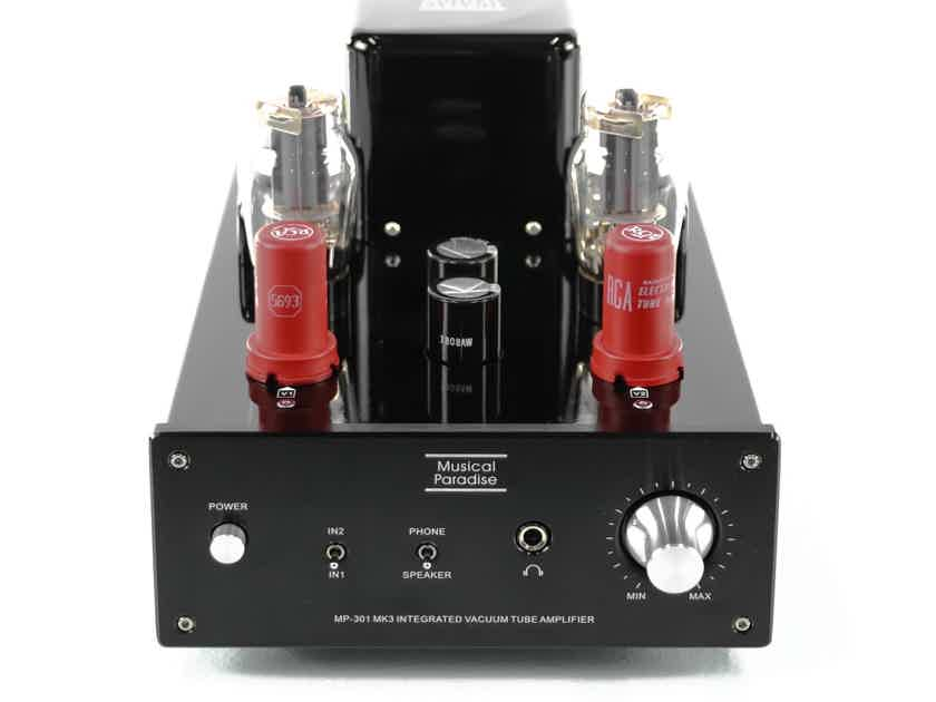 Musical Paradise MP-301 Mk3 Stereo Tube Integrated Amplifier; MP301 MKIII (28788)