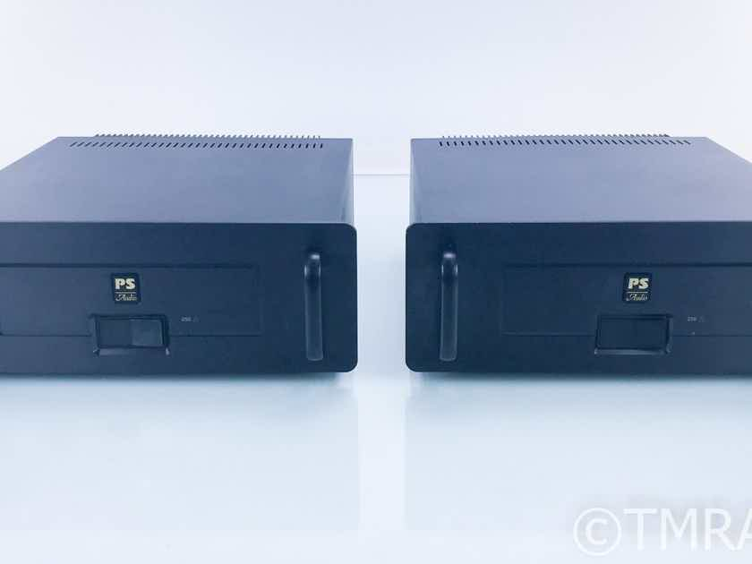 PS Audio 250 Delta Mono Power Amplifier; Black Pair (18162)