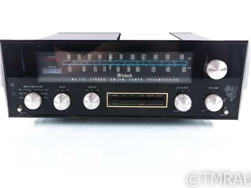 McIntosh MX113 Vintage AM / FM Tuner; MX-113 (20376)
