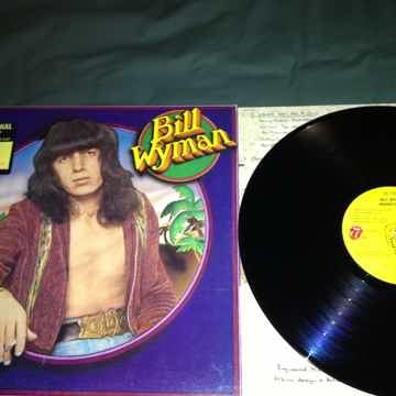 Bill Wyman - Monkey Grip Rolling Stones Records Promo W...
