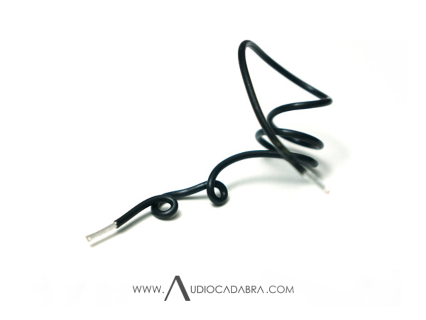 Audiocadabra™ Ultimus3 Prime Solid-Silver Speaker Cables (Free Worldwide Shipping)
