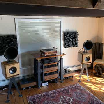 Oswalds Mill Audio Mini's + matching Sub
