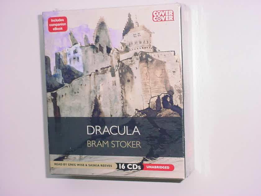 SEALED Bram Stoker Dracula 16 CD EBOOK  Read by Greg Wise Saskia Reeves Unabridged