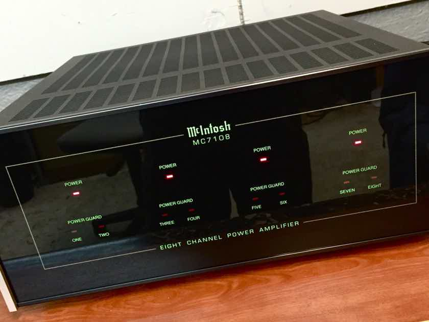 McIntosh Whole Home Audio  MC-7108 8-Channel Amplifiers .................near San Francisco