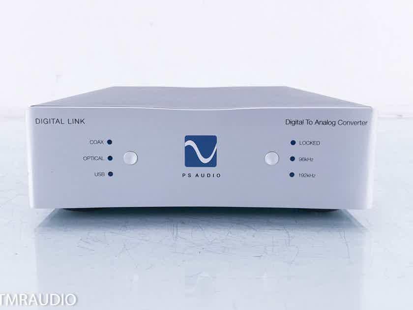 PS Audio Digital Link III USB DAC D/A Converter; DL 3 (13837)