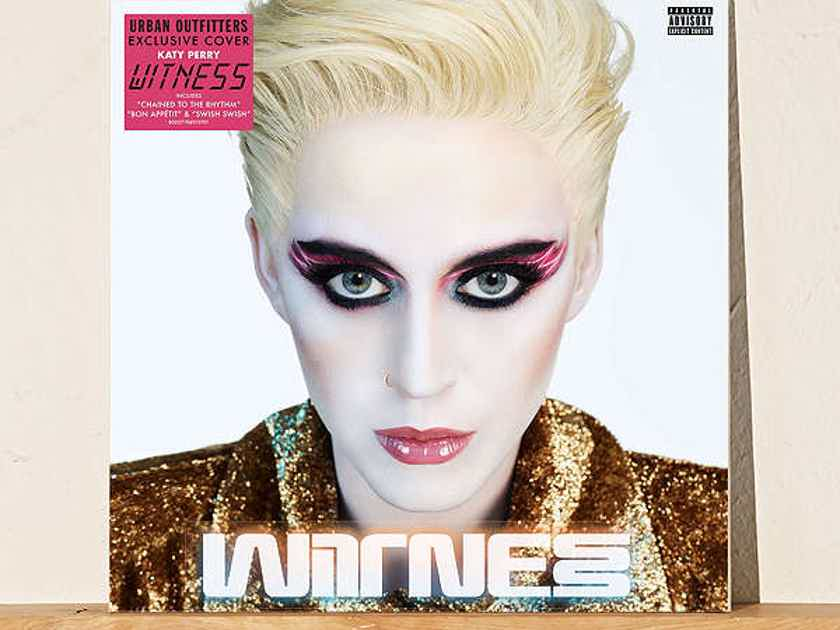 """Katy Perry - """"Witness"""" 2lp Set with Unique Cover Art New / Sealed - Limited to 2000 copies - USA"""