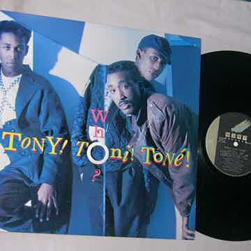 TONY TONI TONE - WHO - RARE ORIG 1988 LP - WING RECORDS -