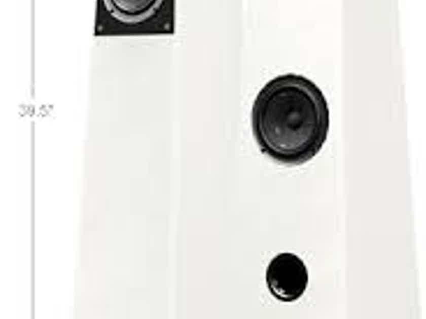 Verity Audio Finn Floor Standing Speakers, Piano White, Pristine Condition!